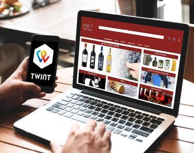TWINT - nouveau moyen de paiement maintenant disponible.