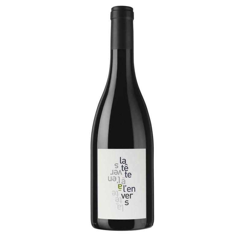 Bouteille de 75 cl de Vin naturel sans sulfites, La Tête à l'Envers 2019, Château La Croix des Pins.