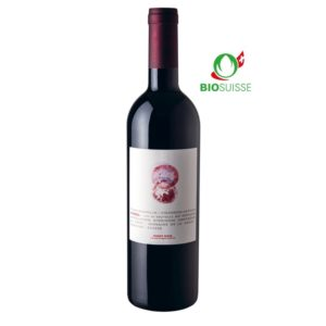 Bouteille de 75 cl de Pinot Noir Vaud AOC 2019, Domaine de la Croix à Bursins.