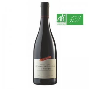 Bouteille de 75 cl de Chambolle-Musigny 1er Cru Les Sentier 2018 David Duband. Pinot Noir de Bourgogne, idéal pour gibier à plume