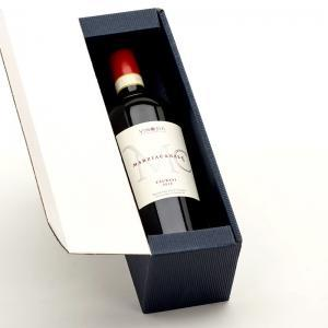 Coffret cadeau 1 bouteille de Marziacanale 2012 Taurasi DOCG de Vinosia.
