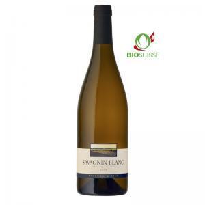 Bouteille de 75 cl de Savagnin Blanc 2019 du Domaine Philippe Villard & Fils à Anières. Ce vin est bio.